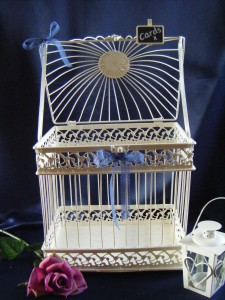 Bird Cage Card Box