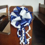 Two Tone Pew Bows