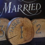 Rustic Country Table Numbers