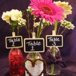 Mini Bottle Table Names / Numbers
